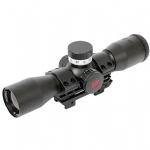 Parker Red Hot PIN POINT Multi-Reticle Illuminated Scope 3x32